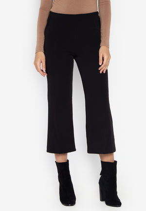 LORETTA HIGHWAIST PANTS- BLACK - Susto The Label