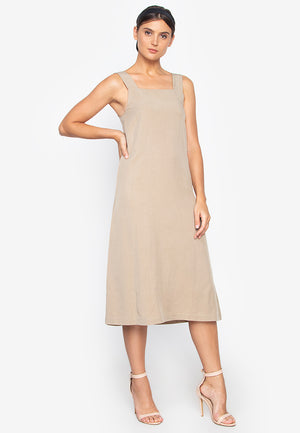 ANINA APRON DRESS