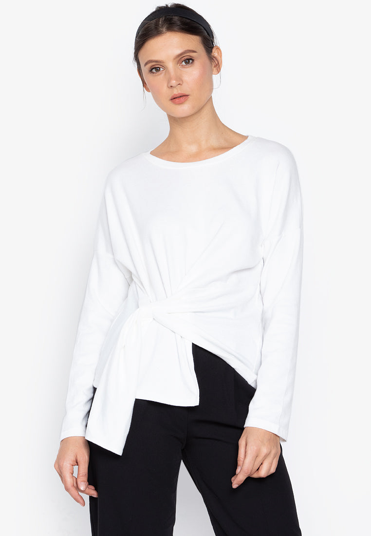 Ksenia Drape Long sleeves Blouse