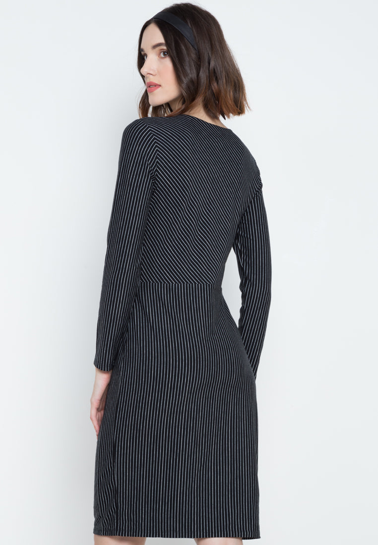 JO STRIPED DRESS