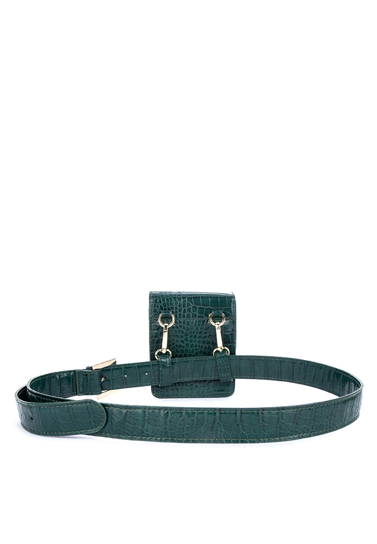 LAINY BELT BAG- GREEN - Susto The Label