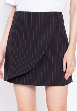ANDREA STRIPED SKIRT