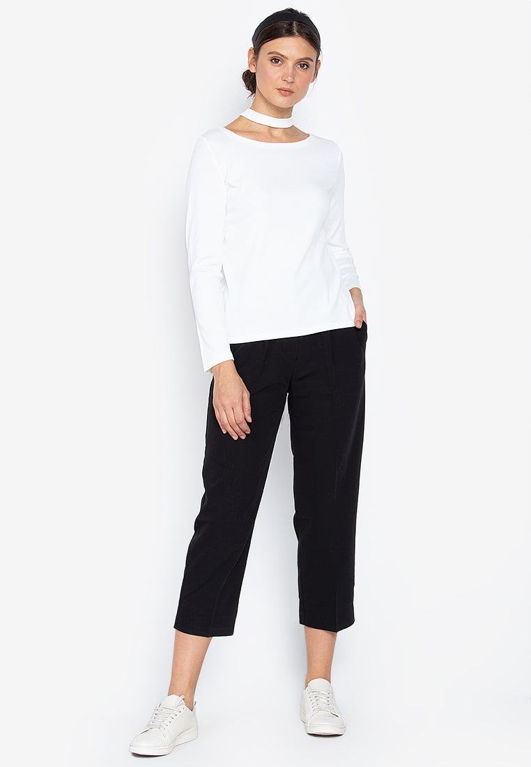 Evie Relaxed Choker Sweater
