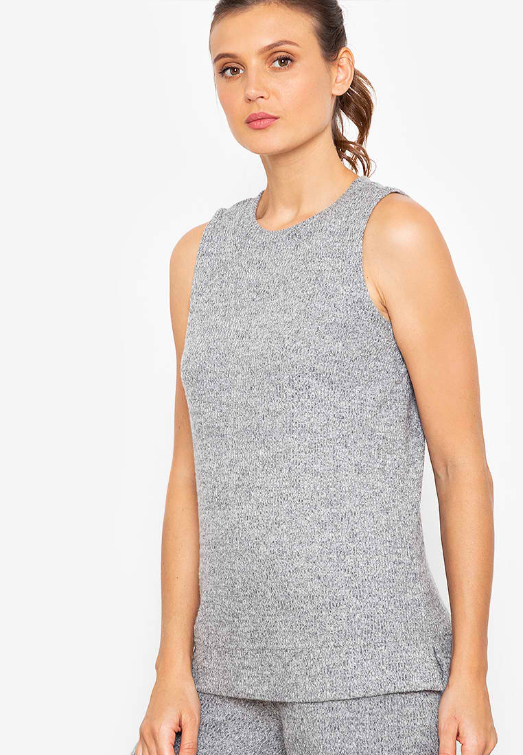 SAYLE RIBBED TOP
