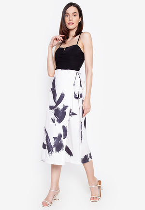 STELLA WRAP SKIRT