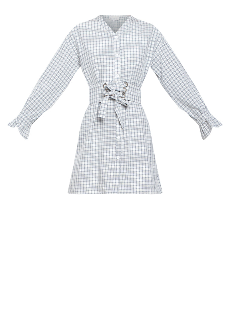 JESYN PLAID DRESS - Susto The Label