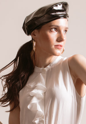 KODA PATENT BERET - Susto The Label