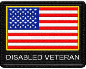 Disabled Veteran Patch