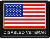 Disabled Veteran Patch - USA Service Animal Registration