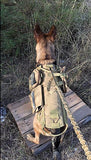 Heavy Duty Service Dog Tactical  Vest & Leash