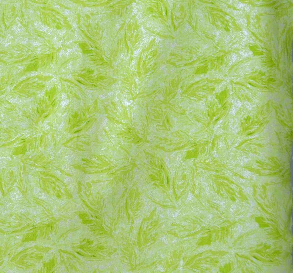 SALE Sparkle Lime Shimmer Silver Metallic by Riley Blake Designs - Green Semisolid- Quilting Cotton Fabric - choose your cut
