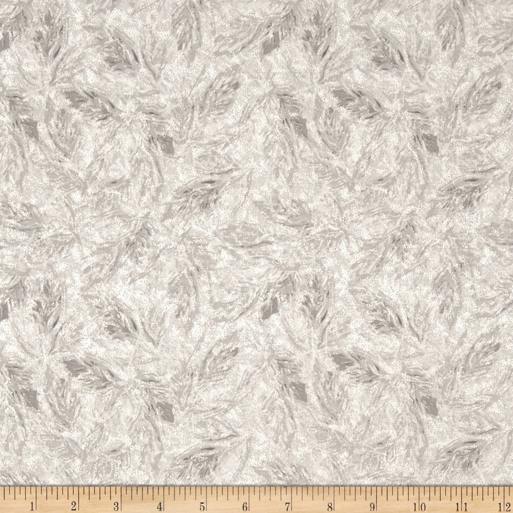 SALE Sparkle Gray Shimmer Silver Metallic by Riley Blake Designs - Semisolid - Quilting Cotton Fabric