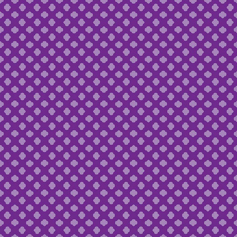Girl Scouts Trefoil Purple - Riley Blake Designs - Tone on Tone - Quilting Cotton Fabric - choose your cut
