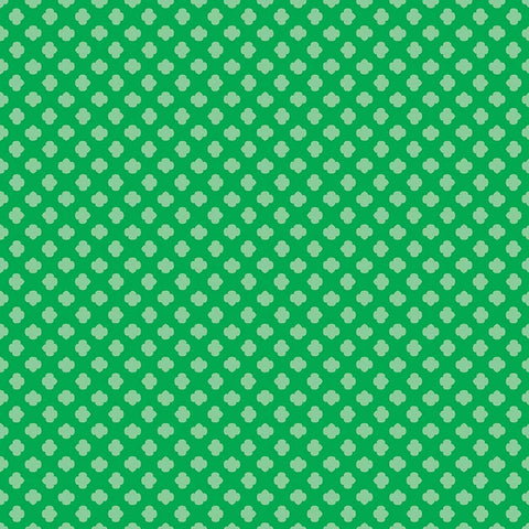 SALE Girl Scouts Trefoil Green - Riley Blake Designs - Tone on Tone - Quilting Cotton Fabric - choose your cut