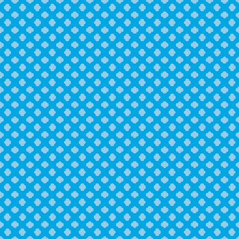 SALE Girl Scouts Trefoil Blue - Riley Blake Designs - Tone on Tone - Quilting Cotton Fabric - choose your cut