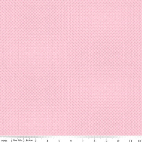 Peony Pink Kisses Tone on Tone by Riley Blake Designs - Basic Coordinate - Quilting Cotton Fabric