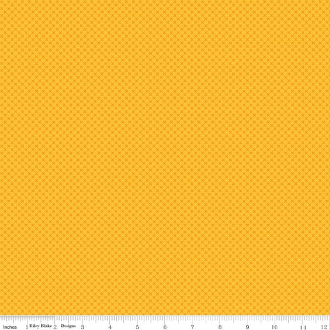 SALE Pumpkin Orange Kisses Tone on Tone by Riley Blake Designs - Basic Coordinate - Quilting Cotton Fabric - end of bolt pieces