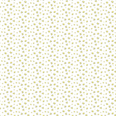 SALE The Little Prince Stars White - Riley Blake Designs - Quilting Cotton Fabric