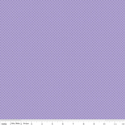 SALE Lilac Purple Kisses Tone on Tone by Riley Blake Designs - Basic Coordinate - Quilting Cotton Fabric