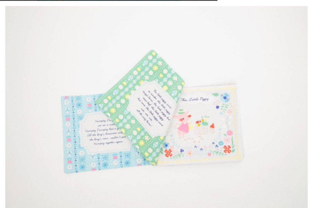 Once Upon A Rhyme Soft Book Panel - Riley Blake Designs - Nursery Rhumes -  Jill Howarth - Quilting Cotton Fabric