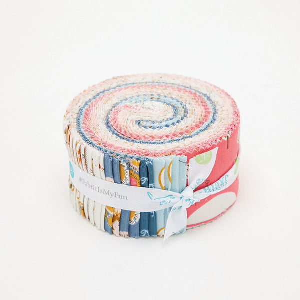 CLEARANCE Guinevere 2.5 Inch Rolie Polie Jelly Roll 40 pieces Riley Blake Designs - Precut Bundle - Princess - Quilting Cotton Fabric