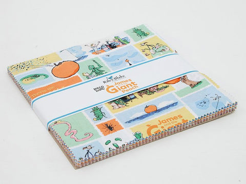 "SALE James and the Giant Peach Layer Cake 10"" Stacker Bundle - Riley Blake Designs - 42 piece Precut Pre cut - Quilting Cotton Fabric"