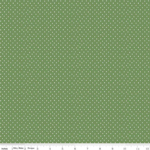 Varsity Diamonds Green - Riley Blake Designs - Sports Basketball Hockey - Quilting Cotton Fabric