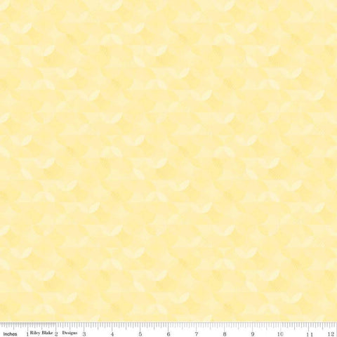 SALE Crayola Kaleidoscope Sunglow - Riley Blake Designs - Yellow Orange Peel Circle Pattern - Quilting Cotton Fabric