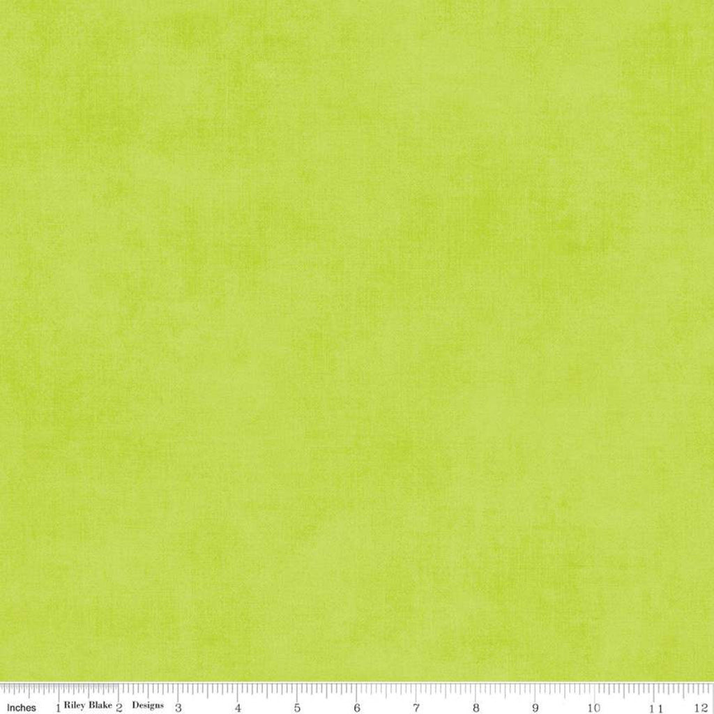 SALE Shades Apple by Riley Blake Designs - Green Semisolid - Quilting Cotton Fabric - end of bolt pieces