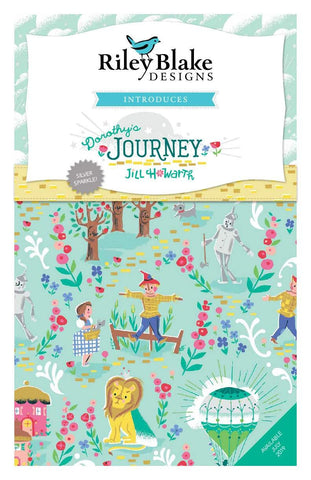 Dorothy's Journey 2.5 Inch Rolie Polie Jelly Roll 40 pieces Riley Blake Designs - Precut Pre cut Bundle - Quilting Cotton Fabric