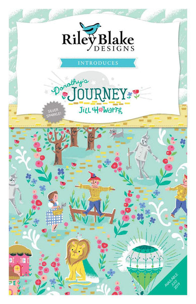 Dorothy's Journey Fat Quarter Bundle 21 pieces - Riley Blake Designs - Pre cut Precut - Quilting Cotton Fabric - Free US Shipping