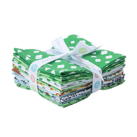 Girl Scout Camp Life Fat Quarter Bundle - 9 Pieces - Riley Blake Designs - Pre cut Precut - Camping Scouting - Quilting Cotton Fabric