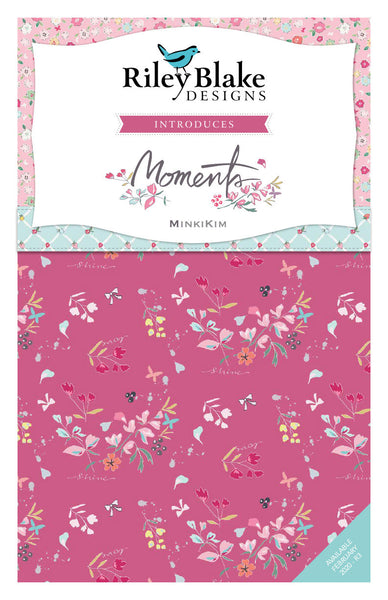 "Moments Layer Cake 10"" Stacker Bundle - Riley Blake Designs - 42 piece Precut Pre cut - Quilting Cotton Fabric"