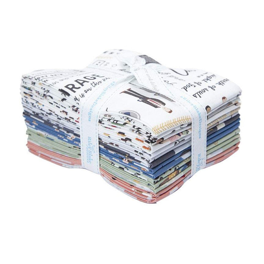 Called to Serve Fat Quarter Bundle 14 pieces - Riley Blake Designs - Pre cut Precut - Missionary Mission - Quilting Cotton Fabric