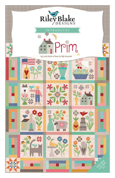 "Prim Layer Cake 10"" Stacker Bundle - Riley Blake Designs - 42 piece Precut Pre cut - Lori Holt - Quilting Cotton Fabric"
