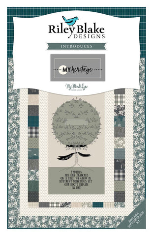 My Heritage Fat Quarter Bundle 21 pieces - Riley Blake Designs - Pre cut Precut - Quilting Cotton Fabric