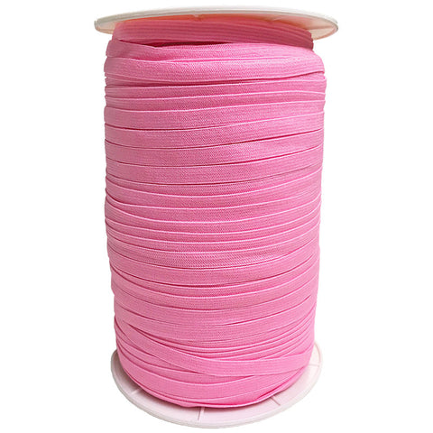 "1/4"" Wide Soft Elastic E180-153 Sherbet - Moda - Pink .25"" Width - Available in Multiples of 5-Yard Lengths"