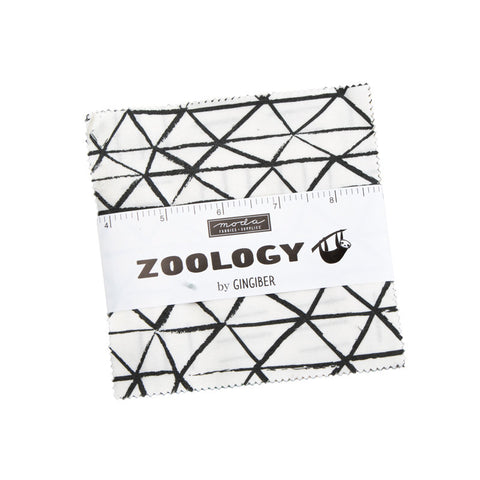 "Zoology Charm Pack 5"" Stacker Bundle - Moda Fabrics - 42 piece Precut Pre cut - Children's Juvenile - Quilting Cotton Fabric"