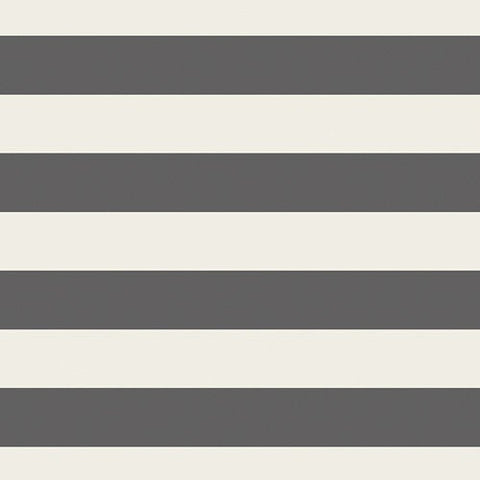 KNIT Striped Bold Graphite by Art Gallery - Stripes Gray Off-White Cream - Jersey KNIT Cotton Stretch Fabric - Choose Your Cut