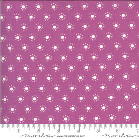 Balboa Sunkissed 37596 Fuchsia - Moda Fabrics - Sun Dots Polka Dots Purple Pink - Quilting Cotton Fabric