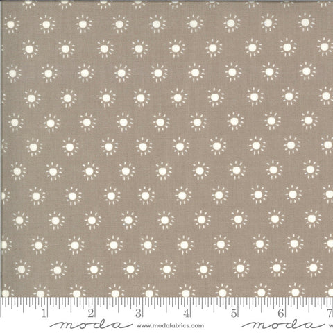 Balboa Sunkissed 37596 Slate - Moda Fabrics - Sun Dots Polka Dots Gray - Quilting Cotton Fabric