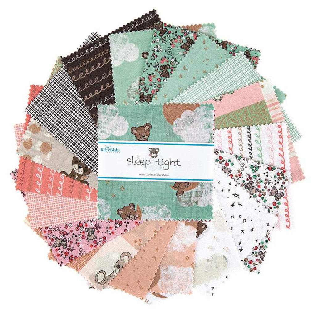 42 piece Precut Pre cut Scouting Riley Blake Designs Girl Scouts Charm Pack 5 Stacker Bundle Quilting Cotton Fabric