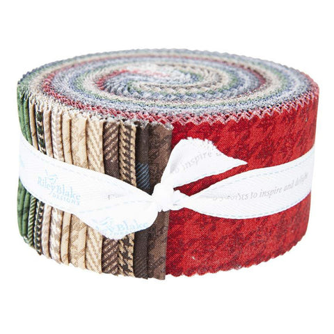 SALE All About Plaids 2.5-Inch Rolie Polie Jelly Roll 40 pieces Riley Blake Designs - Plaid - Racing Cars Toys - Quilting Cotton Fabric