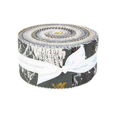 SALE Timberland 2.5 Inch Rolie Polie Jelly Roll 40 pieces Riley Blake Designs - Precut Pre cut Bundle - Outdoors - Quilting Cotton Fabric