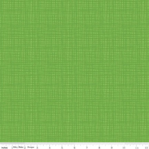 SALE Oh Happy Day! Texture C10319 Green - Riley Blake Designs - Tone-on-Tone Irregular Grid - Quilting Cotton Fabric