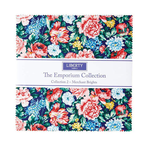 "The Emporium Collection 2 Merchant Brights Layer Cake 10"" Stacker Bundle - Riley Blake - 42 piece Precut Pre cut - Cotton Fabric"