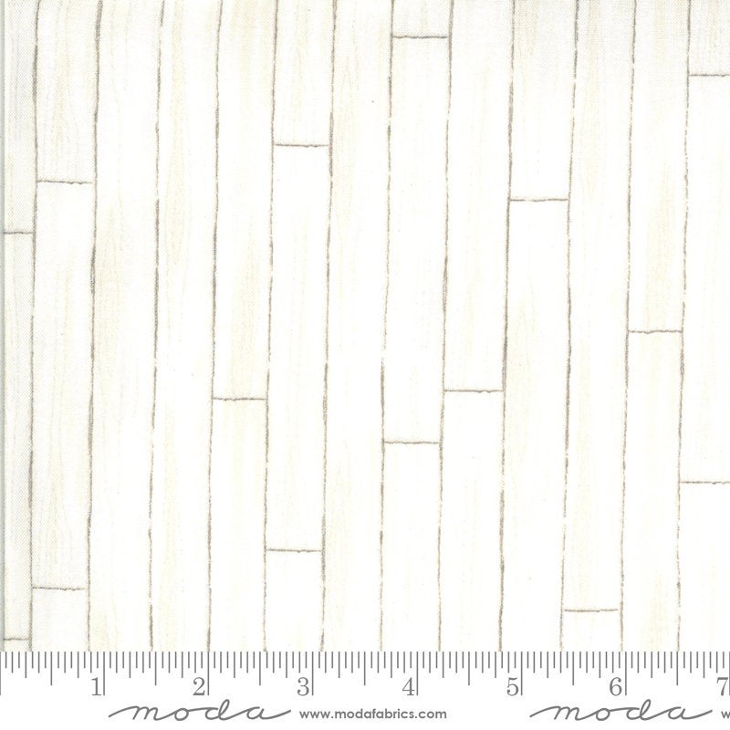 America the Beautiful Barn Wood 19989 White - Moda Fabrics - Patriotic Americana Woodgrain Natural - Deb Strain - Quilting Cotton Fabric