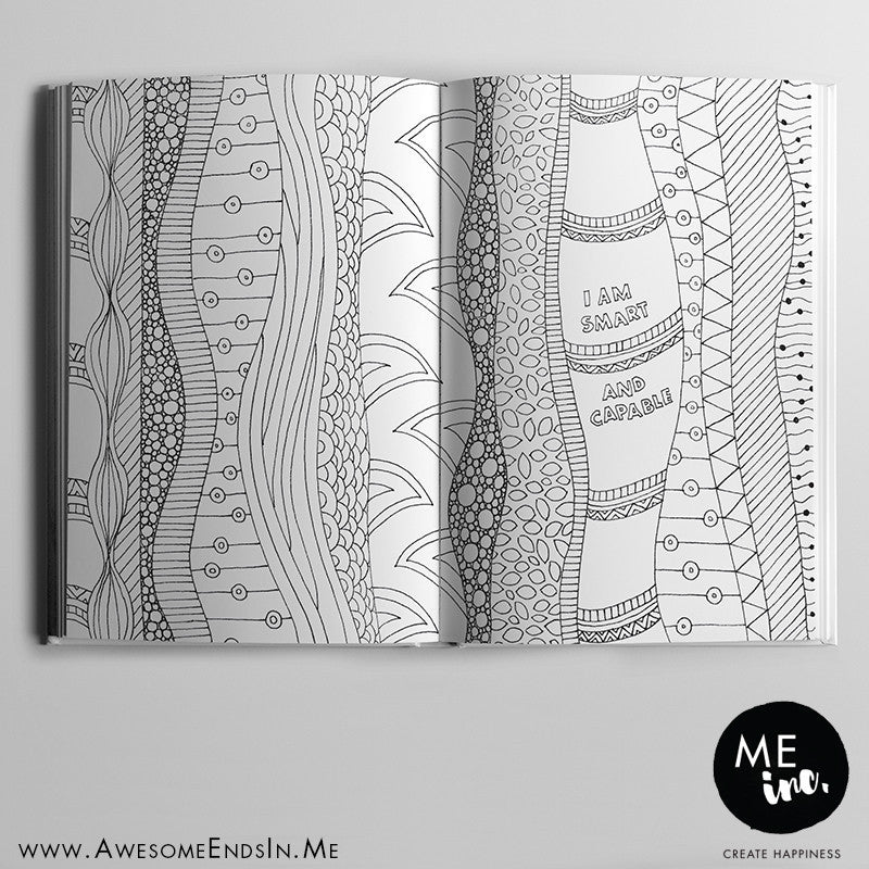 Kids Gratitude Journal - Colouring pages