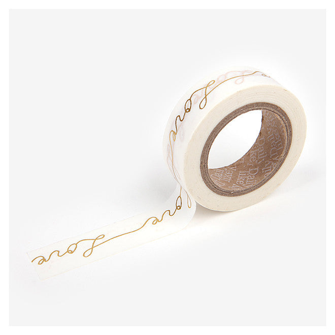Dailylike Love - Gold Washi Tape