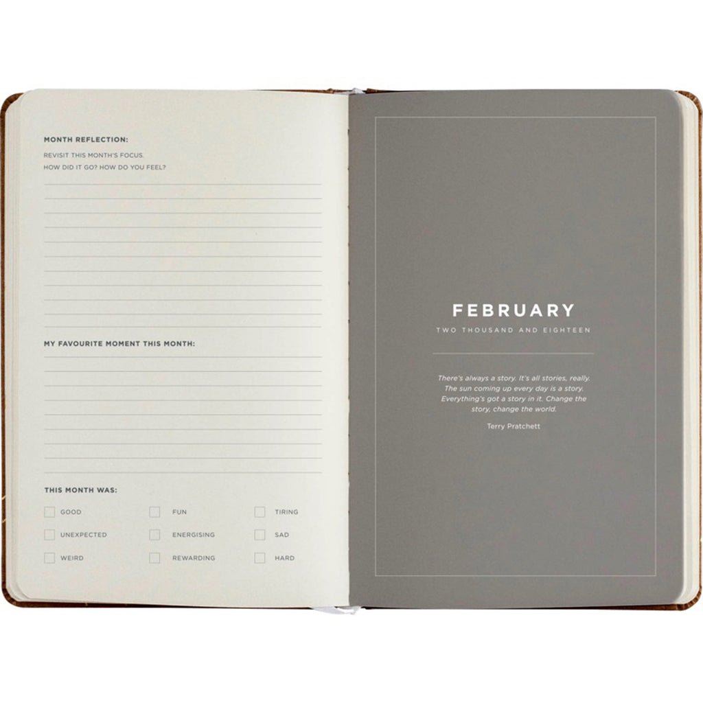 Frank Stationery 2018 Weekly Diary Planner - Blush